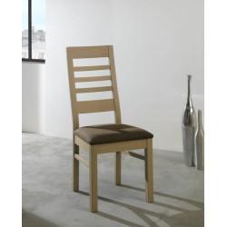 Chaise whitney en chêne massif