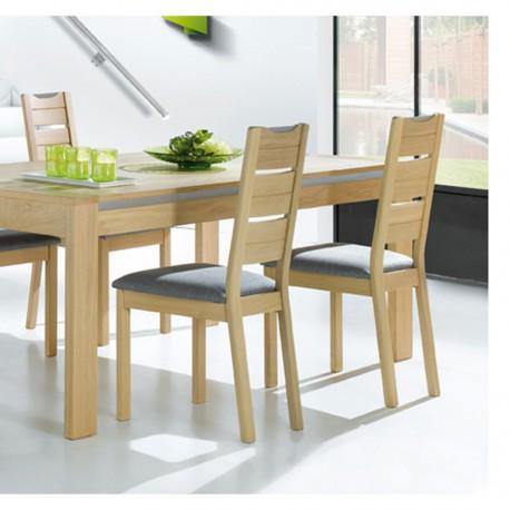 chaise en ch ne massif. Black Bedroom Furniture Sets. Home Design Ideas